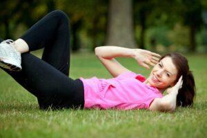 Abdominales para perder barriga