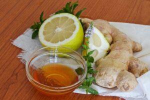 Foto de un remedio para el dolor de garganta