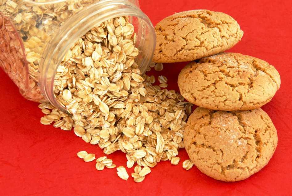 Deliciosas galletas de avena