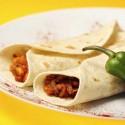 Burritos en un plato
