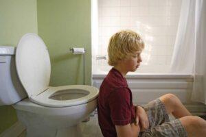 Niño con diarrea