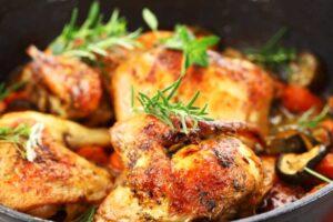 Recetas de pollo - Pollo asado