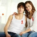 Pareja discutiendo los sintomas del SIDA
