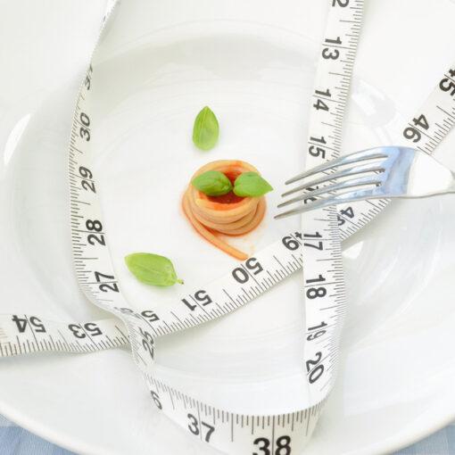Comida en pequeñas porciones
