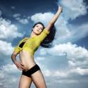Mujer en forma para el verano
