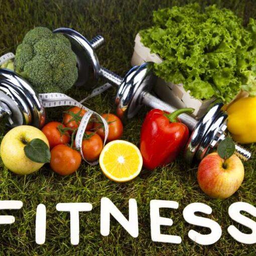 Frutas, verduras y deporte