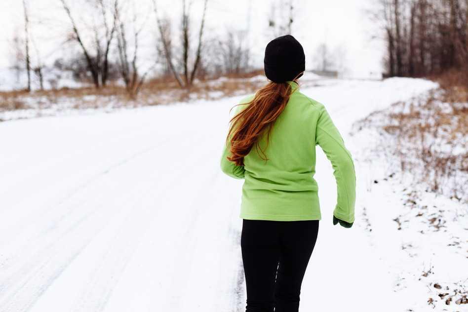 Correr en el frío