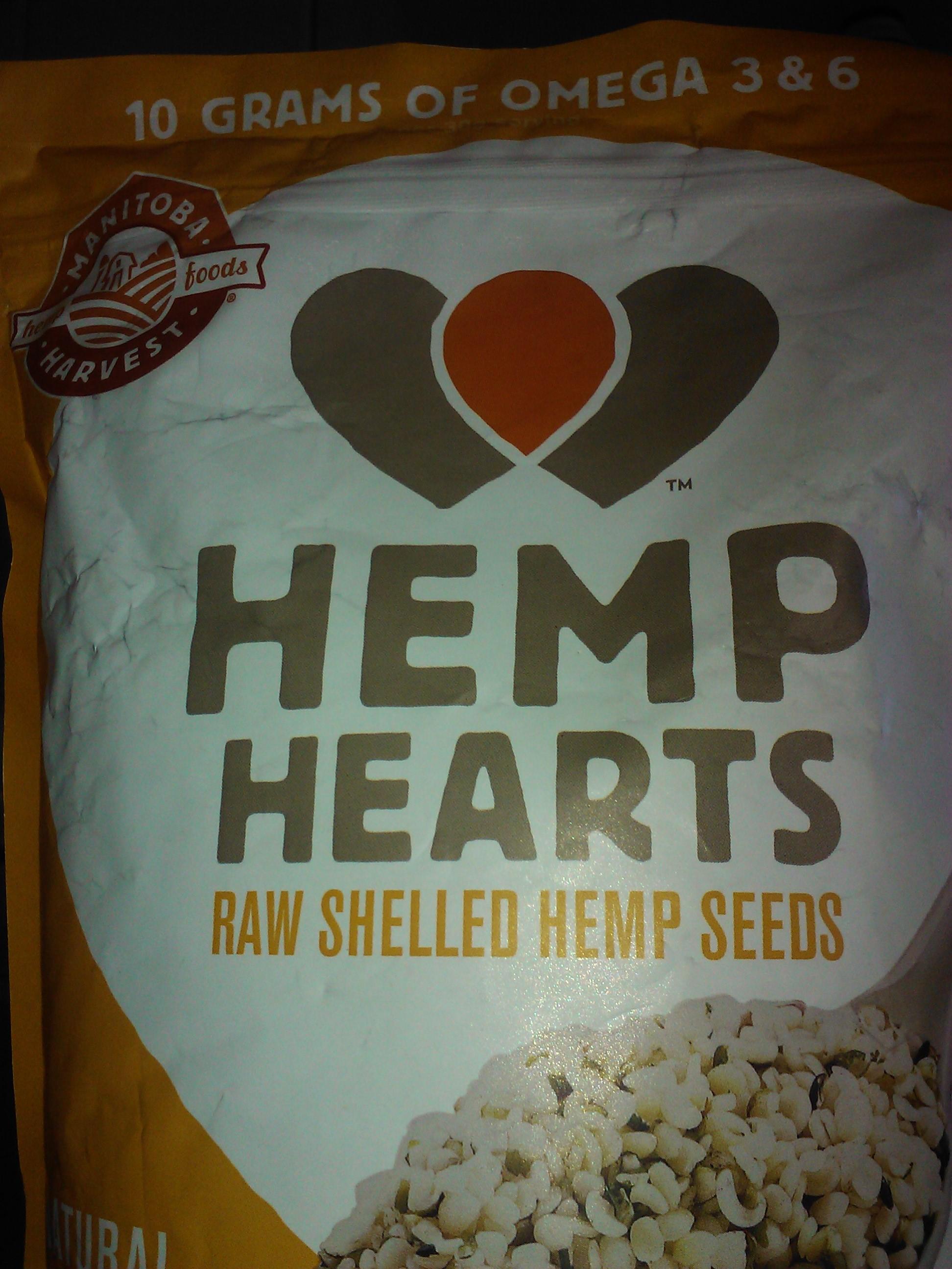 Comer semillas de Hemp alto contenido Omega 3 y Omega 6