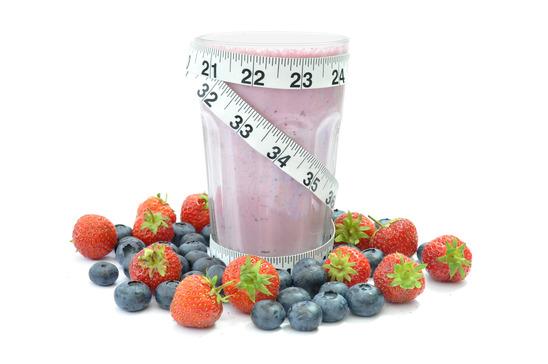Licuado de fruta para adelgazar