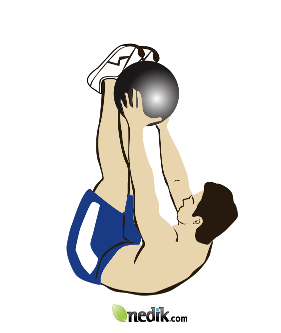 ejercicio para abdominales levante de piernas 1