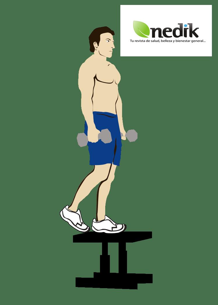 ejercicio sencillo para levantar el trasero