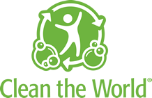 logo clean the world