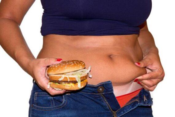 Celulitis y comida