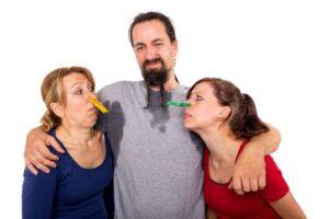Sudoracion excesiva en hombres y mujeres