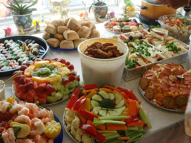 Comer de manera saludable en fiestas
