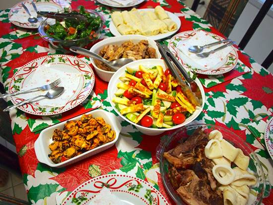Consejos para comer sano en fiestas